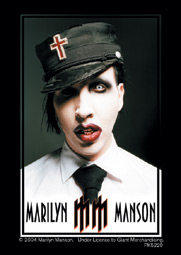 Schlüsselring Marilyn Manson Uniform