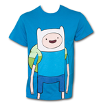 T-Shirt Adventure Time Large Finn