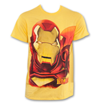 T-Shirt Iron Man Huge Iron Face