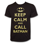T-Shirt Keep Calm and Call BATMAN