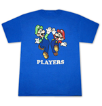 T-Shirt Super Mario Mario and Luigi Fan