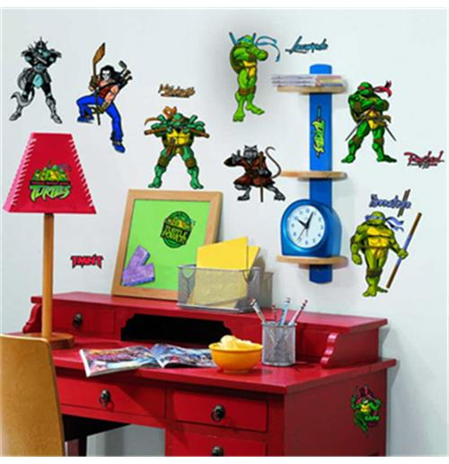 deko vinyl f r die wand ninja turtles f r nur 17 41 bei merchandisingplaza. Black Bedroom Furniture Sets. Home Design Ideas
