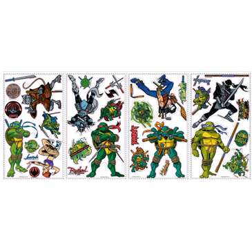 deko vinyl f r die wand ninja turtles f r nur 17 41 bei. Black Bedroom Furniture Sets. Home Design Ideas
