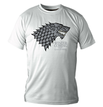 Game of Thrones T-Shirt Stark Winter Is Coming white