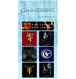 Game of Thrones Magnete Set B