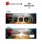 Gears of War 3 - Pin Box (á 5 Stück)