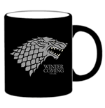 Game of Thrones Tasse Stark schwarz