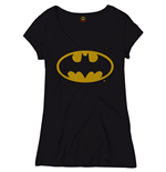 Ladies T-Shirt Batman - Batgirl Klassik Logo