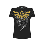 T-Shirt Nintendo  - Legend of Zelda - Zelda Warrior - schwarz