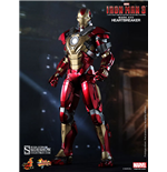 Iron Man 3 Movie Masterpiece Actionfigur 1/6 Iron Man Mark 17 Heartbreaker 30 cm