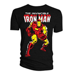 T-Shirt Iron Man - Man Issue 126 Classic Cover