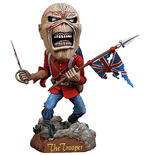 Iron Maiden Head Knocker Wackelkopf-Figur Eddie The Trooper 18 cm