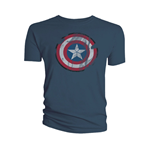 T-Shirt Captain America  Schild