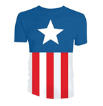 T-Shirt Captain America  - Uniform