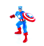 Marvel Comics Minifigur Captain America & Shield 10 cm