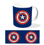 Marvel Tasse Captain America Shield Logo