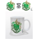 Tasse Harry Potter - Slytherin Stencil Wappen