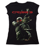 Ladies T-Shirt Crysis Cover