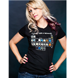 Ladies T-Shirt Minecraft Periodic Table
