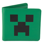 Minecraft Leder-Geldbeutel Creeper Face