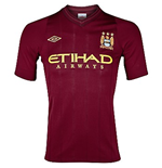T-Shirt Manchester City FC Away Umbro 2012-13 für Kinder