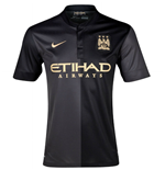 T-Shirt Manchester City FC Away Nike 2013-14 für Kinder