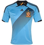 T-Shirt Spanien Fussball Away 2012-13 für Kinder