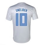 T-Shirt Holland Fussball Away Nike 2'13-14 für Kinder (Sneijder 10)