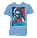 The Big Lebowski - Posterized Abide T-Shirt